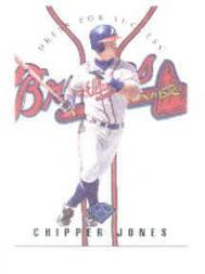 1997 Leaf Dress for Success #18 Chipper Jones
