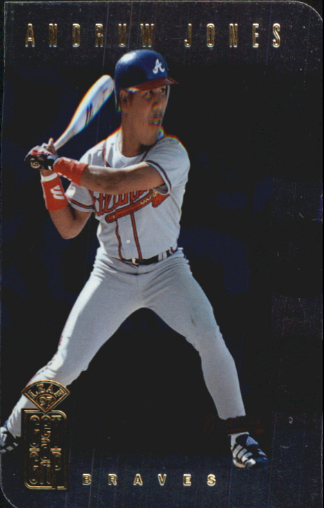 1997 Leaf Get-A-Grip #10 A.Jones/T.Percival