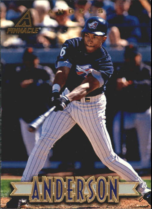 1997 New Pinnacle #31 Garret Anderson
