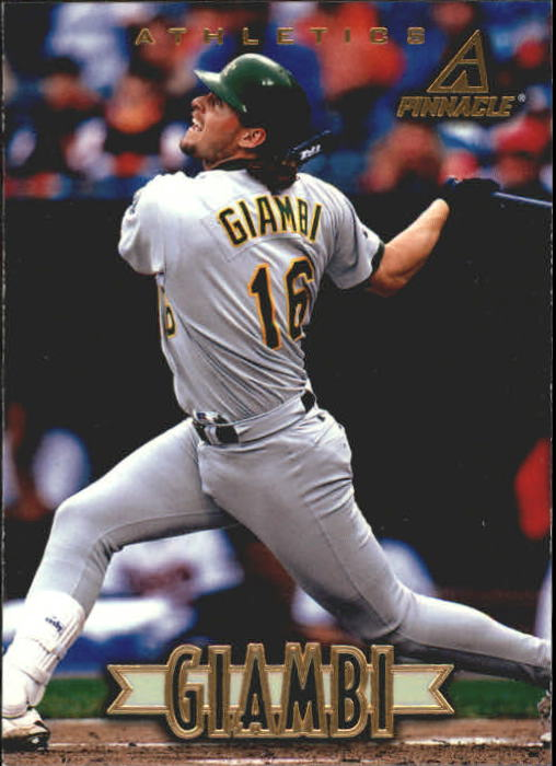 1997 New Pinnacle #74 Jason Giambi