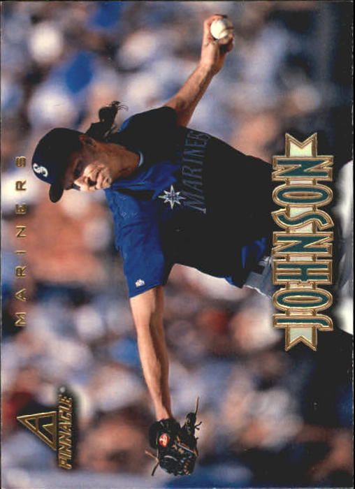 1997 New Pinnacle #100 Randy Johnson