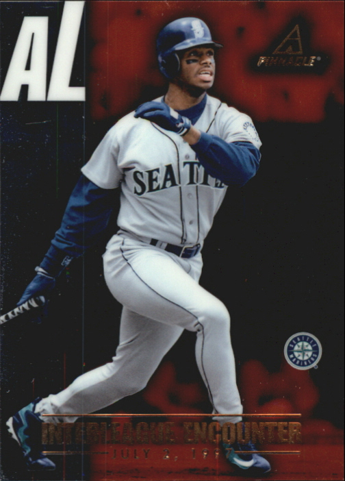 1997 New Pinnacle Interleague Encounter #3 K.Griffey Jr./T.Gwynn