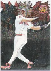 1997 Pacific Fireworks Die Cuts #6 Albert Belle