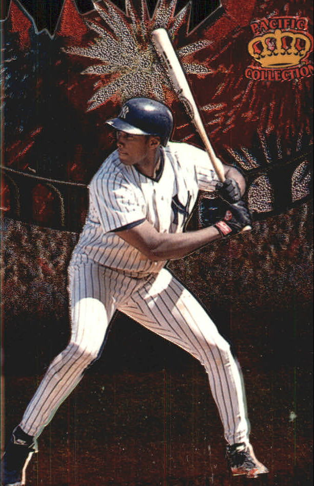 1997 Pacific Fireworks Die Cuts #9 Bernie Williams
