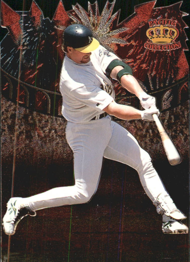 1997 Pacific Fireworks Die Cuts #10 Mark McGwire