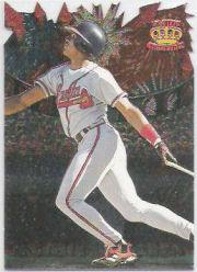 1997 Pacific Fireworks Die Cuts #14 Andruw Jones
