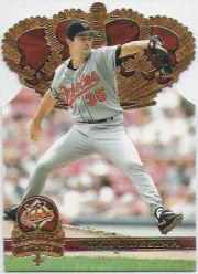1997 Pacific Gold Crown Die Cuts #3 Mike Mussina