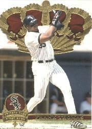 1997 Pacific Gold Crown Die Cuts #7 Frank Thomas