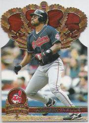 1997 Pacific Gold Crown Die Cuts #8 Albert Belle