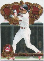 1997 Pacific Gold Crown Die Cuts #9 Omar Vizquel