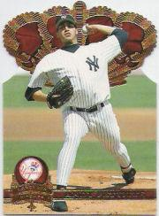 1997 Pacific Gold Crown Die Cuts #12 Andy Pettitte