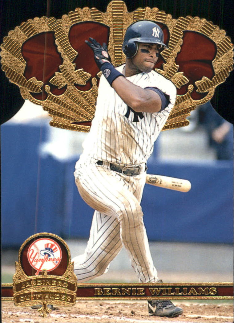 1997 Pacific Gold Crown Die Cuts #14 Bernie Williams