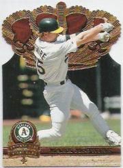 1997 Pacific Gold Crown Die Cuts #15 Mark McGwire