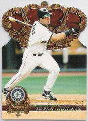 1997 Pacific Gold Crown Die Cuts #17 Edgar Martinez