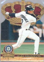 1997 Pacific Gold Crown Die Cuts #18 Alex Rodriguez