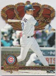 1997 Pacific Gold Crown Die Cuts #25 Ryne Sandberg