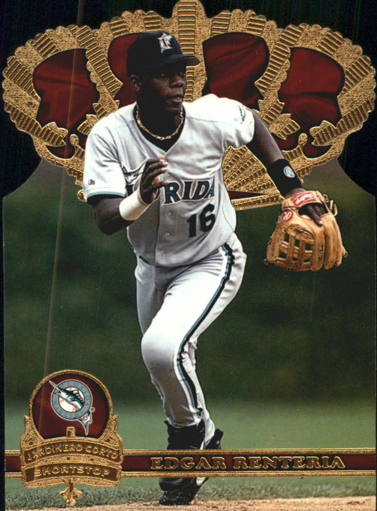 1997 Pacific Gold Crown Die Cuts #27 Edgar Renteria