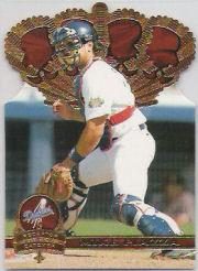 1997 Pacific Gold Crown Die Cuts #31 Mike Piazza