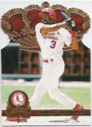 1997 Pacific Gold Crown Die Cuts #33 Brian Jordan