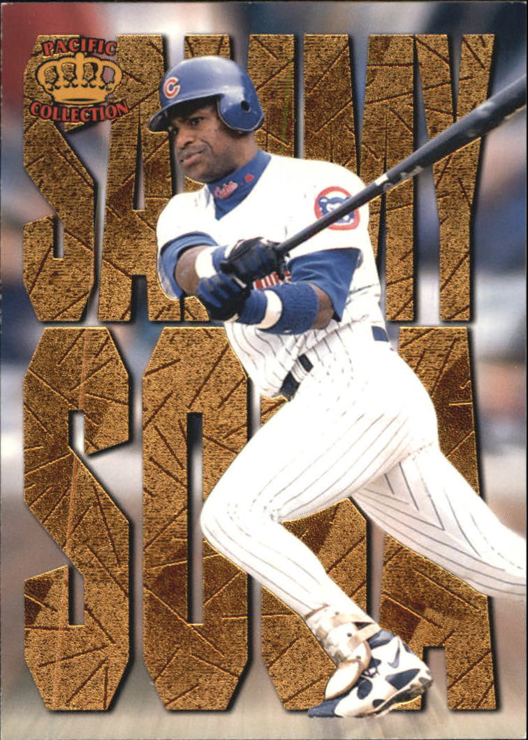 1997 Pacific Latinos of the Major Leagues #25 Sammy Sosa