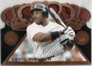 1997 Pacific Triple Crown Die Cuts #7 Cecil Fielder