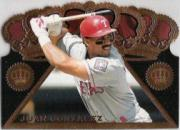 1997 Pacific Triple Crown Die Cuts #11 Juan Gonzalez