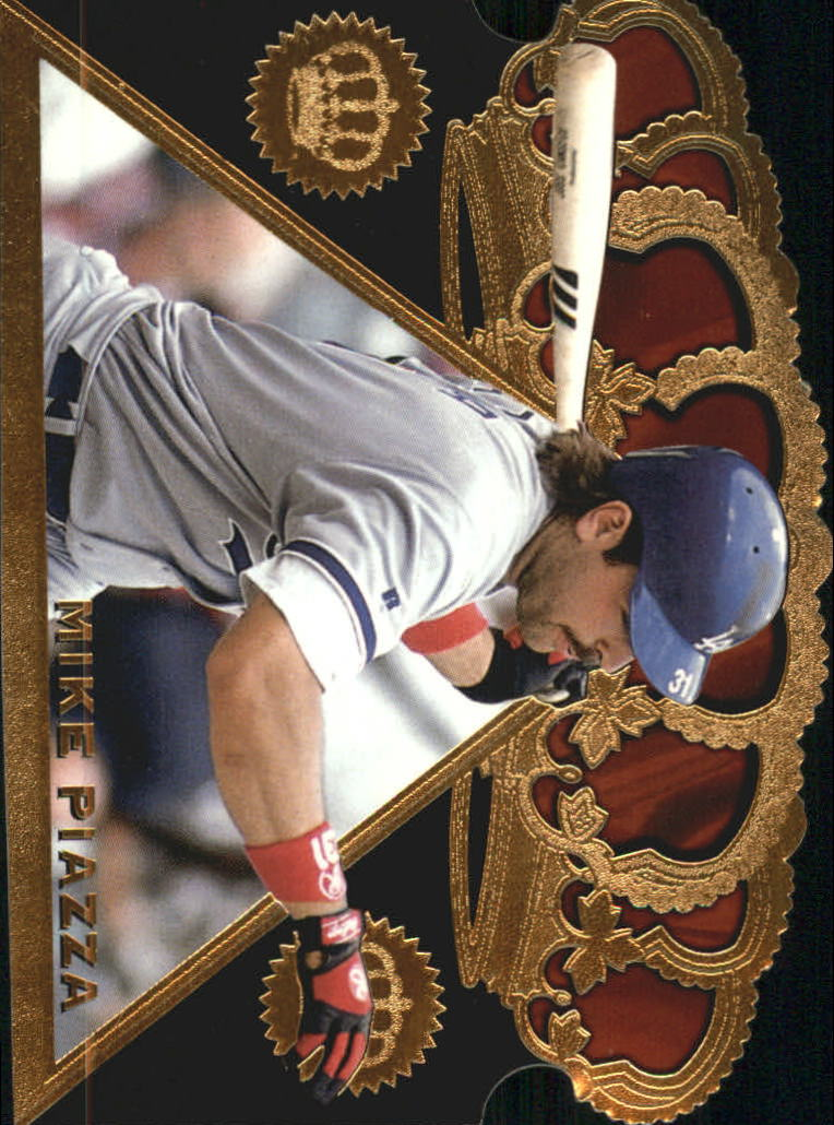 1997 Pacific Triple Crown Die Cuts #18 Mike Piazza