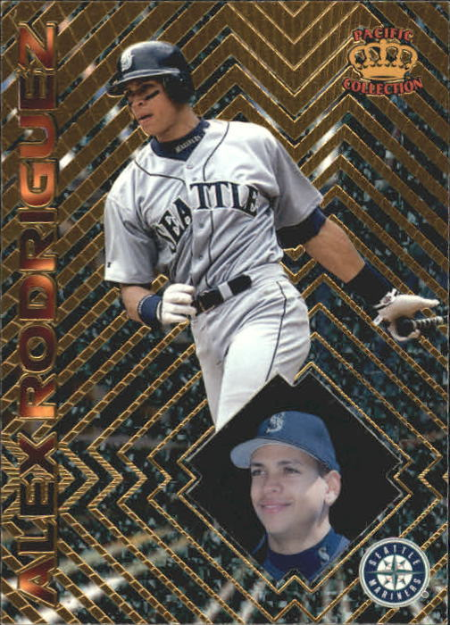 1997 Pacific Prisms #65 Alex Rodriguez