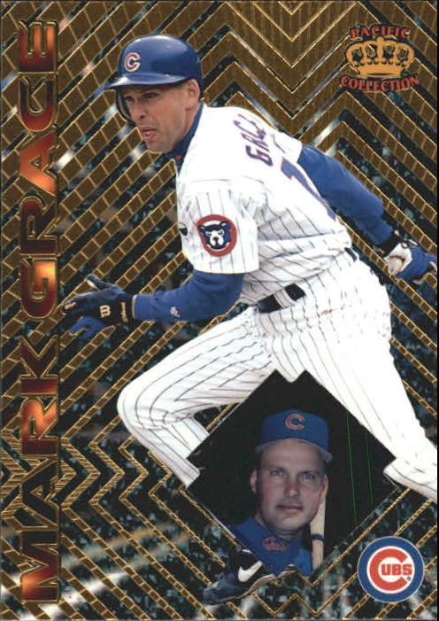 1997 Pacific Prisms #84 Mark Grace