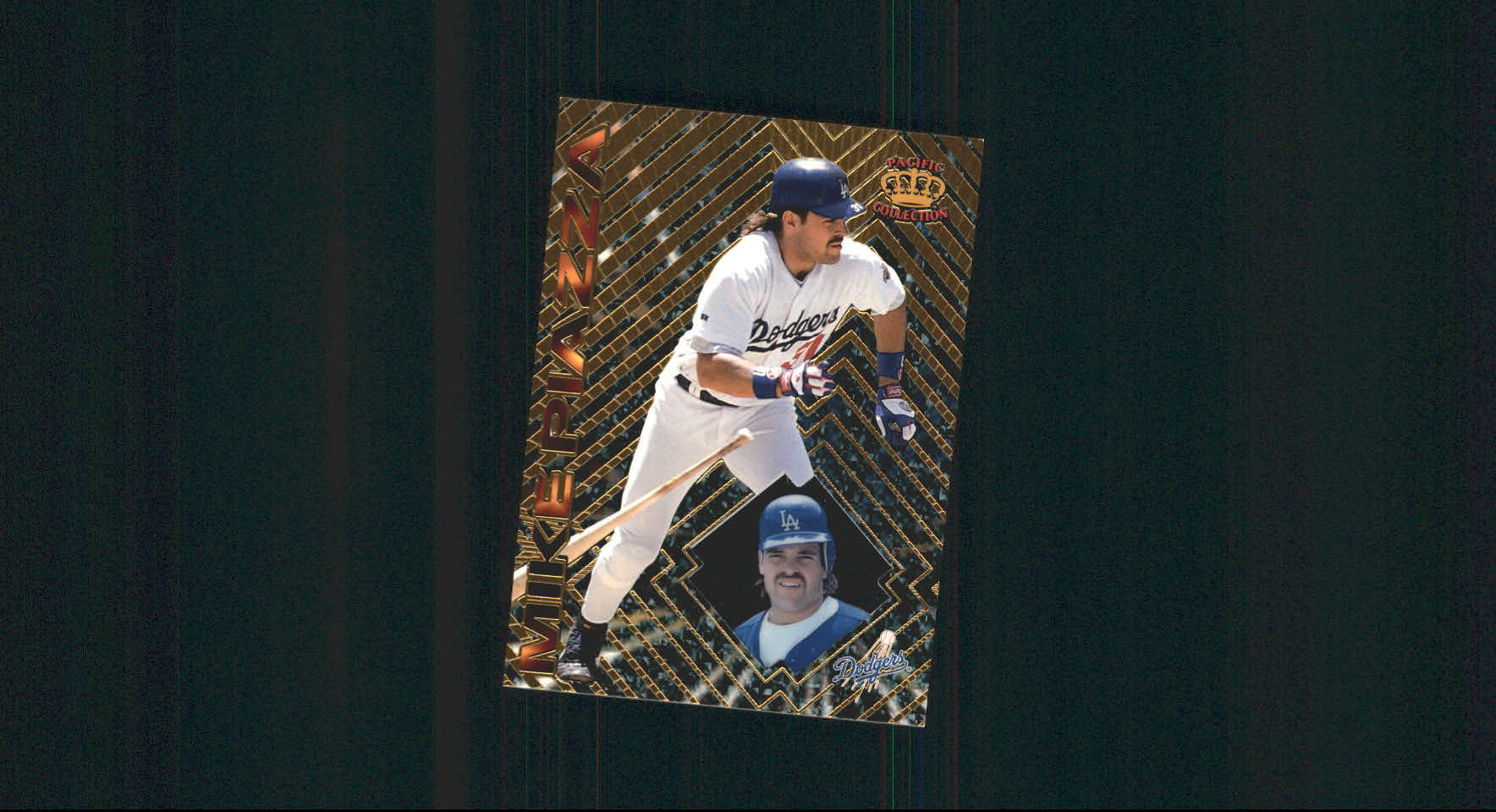 1997 Pacific Prisms #115 Mike Piazza