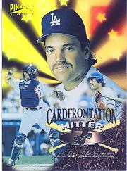 1997 Pinnacle Cardfrontations #1 G.Maddux/M.Piazza