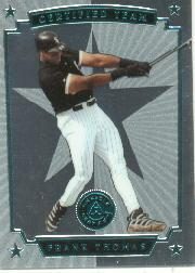1997 Pinnacle Certified Certified Team #1 Frank Thomas