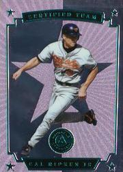 1997 Pinnacle Certified Certified Team #7 Cal Ripken