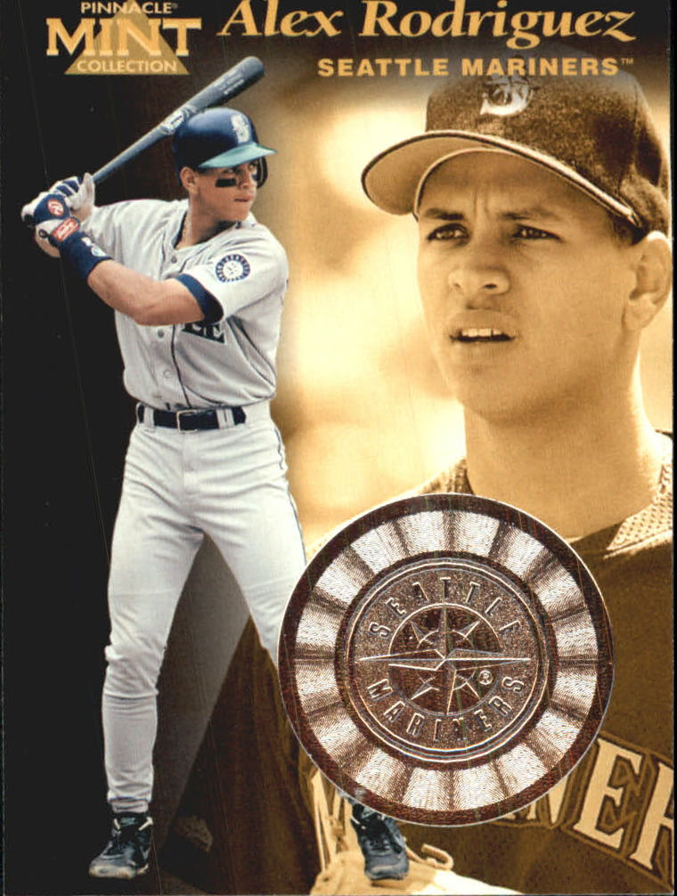 1997 Pinnacle Mint Bronze #3 Alex Rodriguez