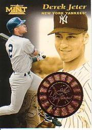 1997 Pinnacle Mint Bronze #16 Derek Jeter