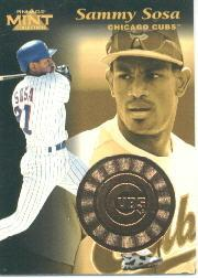 1997 Pinnacle Mint Bronze #17 Sammy Sosa