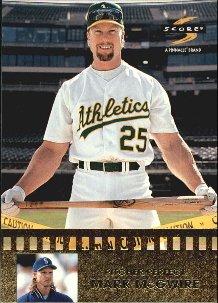 1997 Score Pitcher Perfect #6 Mark McGwire