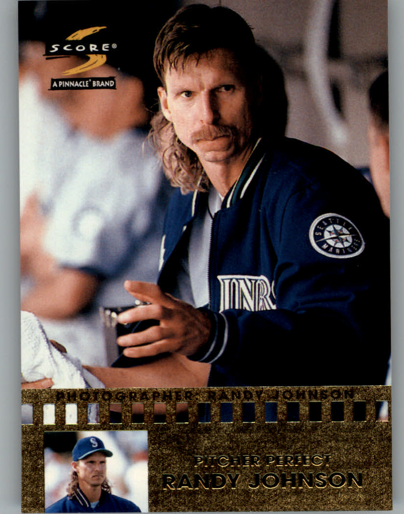 1997 Score Pitcher Perfect #15 Randy Johnson