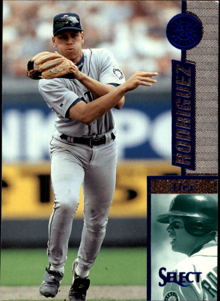 1997 Select #53 Alex Rodriguez B
