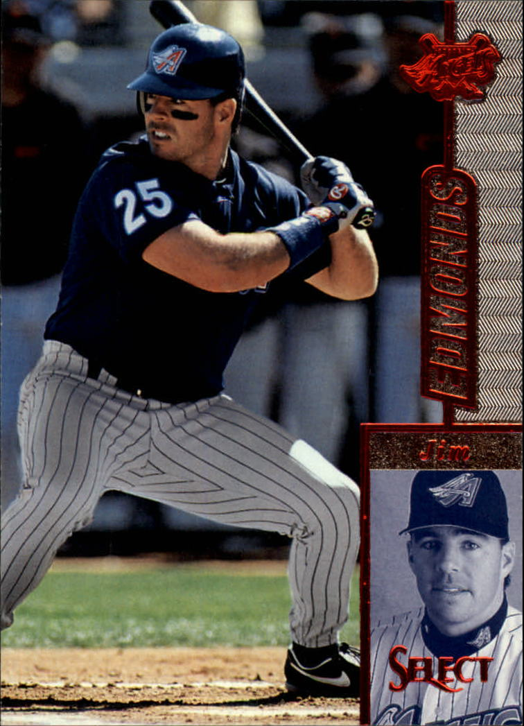 1997 Select #84 Jim Edmonds R
