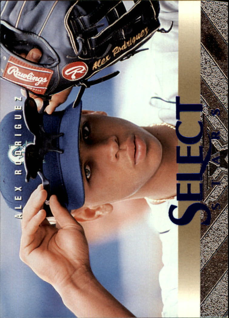 1997 Select #141 Alex Rodriguez SS B