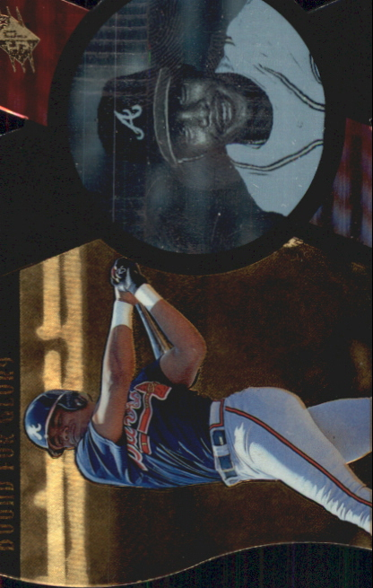 1997 SPx Bound for Glory #1 Andruw Jones
