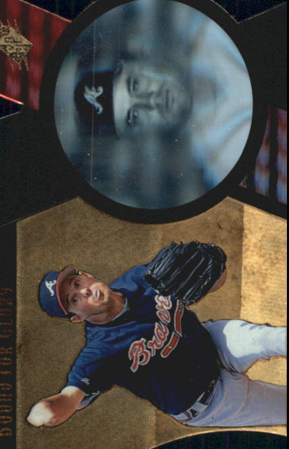 1997 SPx Bound for Glory #3 Greg Maddux
