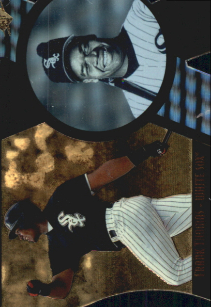 1997 SPx Bound for Glory #7 Frank Thomas