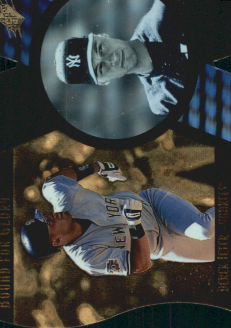 1997 SPx Bound for Glory #13 Derek Jeter