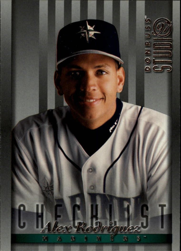 1997 Studio #165 Alex Rodriguez CL