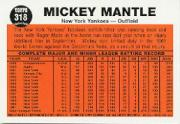 1997 Topps Mantle #34 Mickey Mantle/1962 Topps IA back image