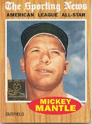 1997 Topps Mantle #35 Mickey Mantle/1962 AS