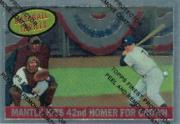 1997 Topps Mantle Finest #26 Mickey Mantle front image