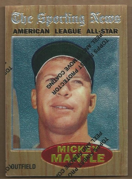 1997 Topps Mantle Finest #35 Mickey Mantle